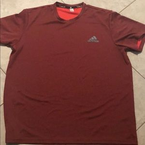 Adidas climalite workout shirt size L